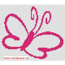 Cross stitch, patterns - butterfly