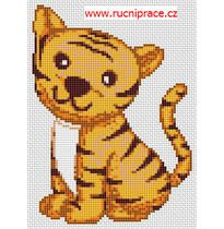 Cross stitch, patterns - lion