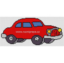 Car cross stitch