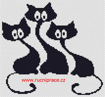 Cross stitch patterns - cats