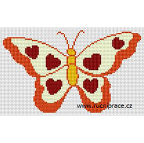 Cross stitch patterns - butterfly