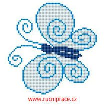 Free cross stitch - butterfly