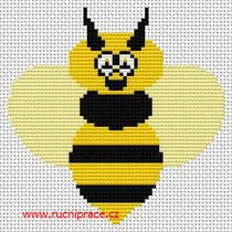 Free cross stitch - wasp