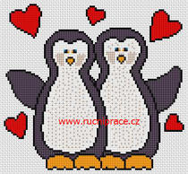 Free cross stitch - penguins