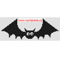 Free cross stitch - bat