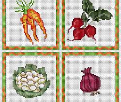 Kitchen, vegetables