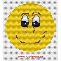 smile cross stitch
