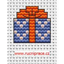 Gift, cross stitch