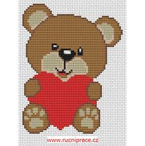 Teddy Bear, cross stitch, pattern