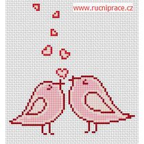 Little birds, free cross stitch