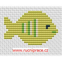 Fish, free cross stitch